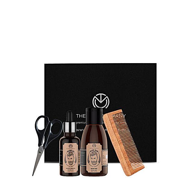 The Man Company Argan & Geranium Beard Box