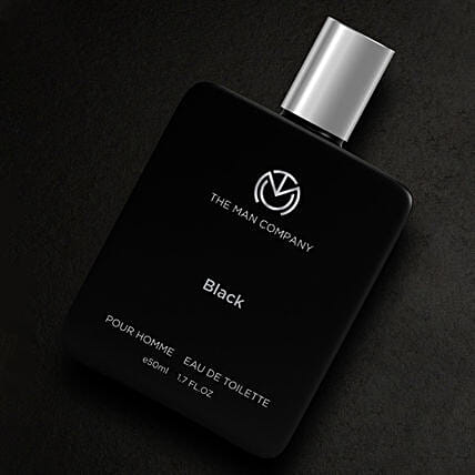 Online The Man Company Black EDT- 50 Ml