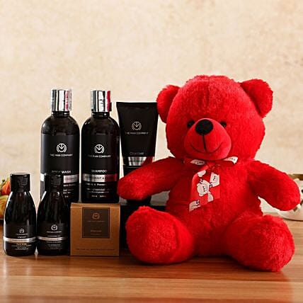 The Man Company Charcoal Kit Red Teddy