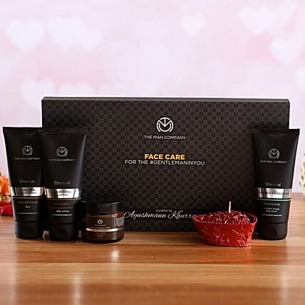 The Man Company Face Care Kit Heart Candle:Shop By Brands