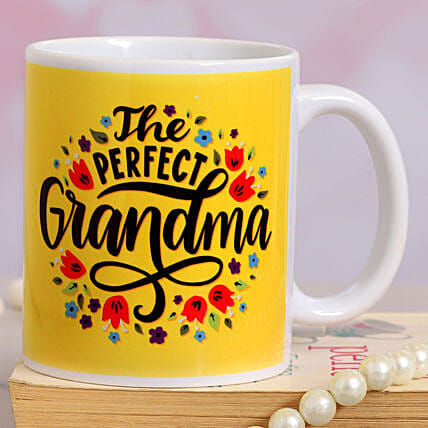The Perfect Grandma Printed Ceramic Mug