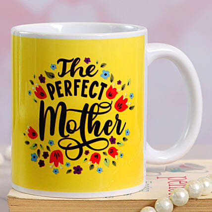 The Perfect Mom Printed Ceramic Mug