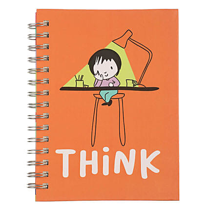 Online Think Spiral Notebook:Stationery Gifts