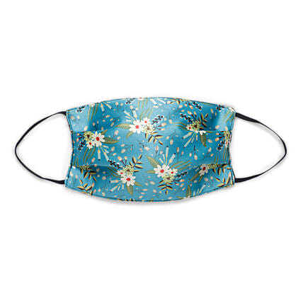 THOT Blue Daisy Face Mask