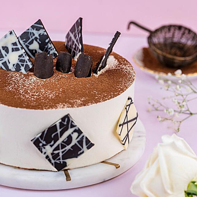 Tiramisu Cake 1kg Eggless