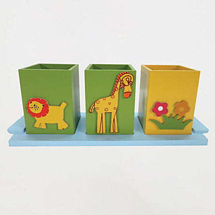Tray with Container AnimalOnline