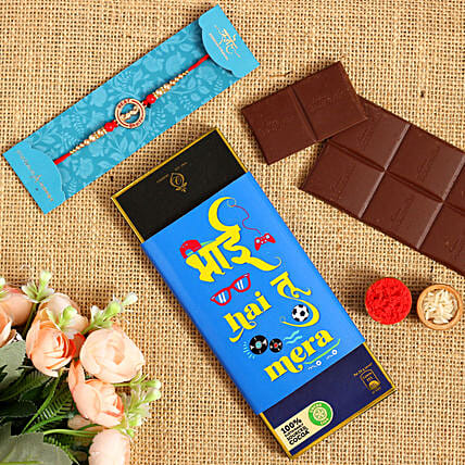 Trendy Brother Rakhi And Bournville Chocolate Sleeve