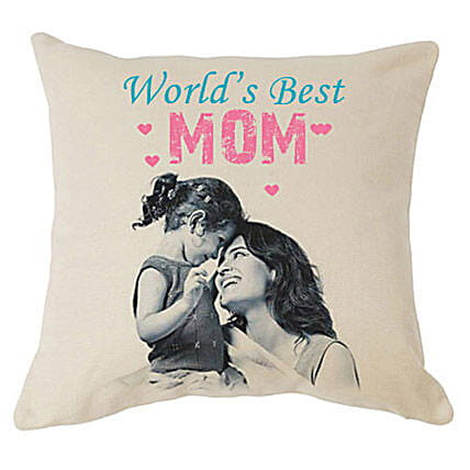 My Mom-Best Mom 12X12 inches Customized printed cushion:Send Home Decor for Birthday