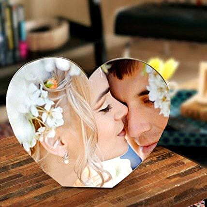 Heart shape personalize frame-135x165 mm Heart shape personalize frame:Personalised Photo Frames