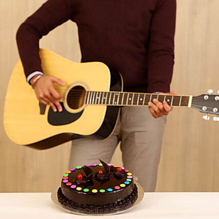 Truffle Cake Melodious Combo:Gifts N Guitarist Service