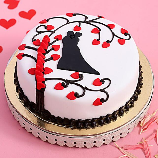 Online Truffle Paradise Designer Cake:Propose Day Cakes