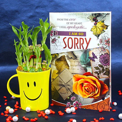 Plant and Sorry Card Online