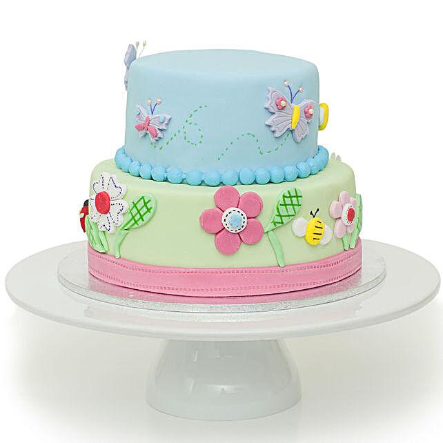 Garden Theme Cake Online:Designer Cakes