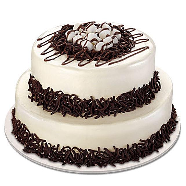Twosome Cream Cake 5kg Eggless