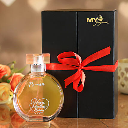 V Day Special Personalised Rose Perfume