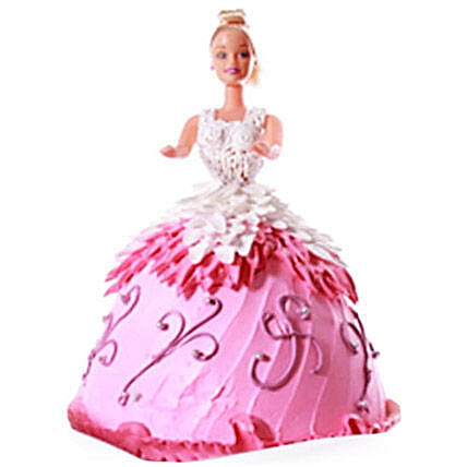 Baby Doll Cake 3kg Butterscotch Eggless