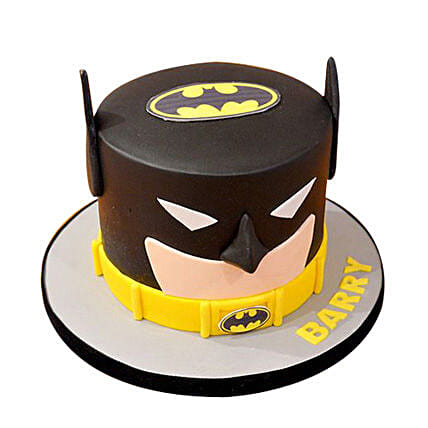 Batman Mask Cake 1kg Eggless