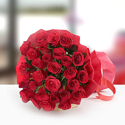 Beauty In Thirty - Bunch of 30 Red roses