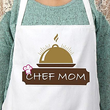 Apron for chef mom