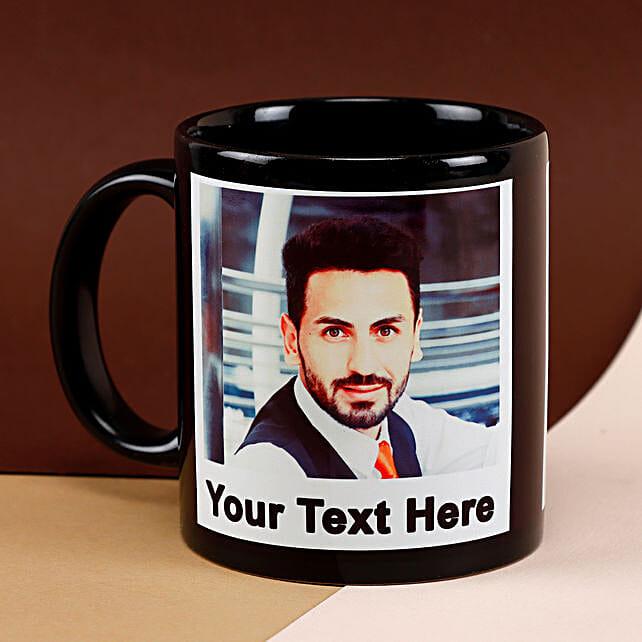 Black Mug Personalized