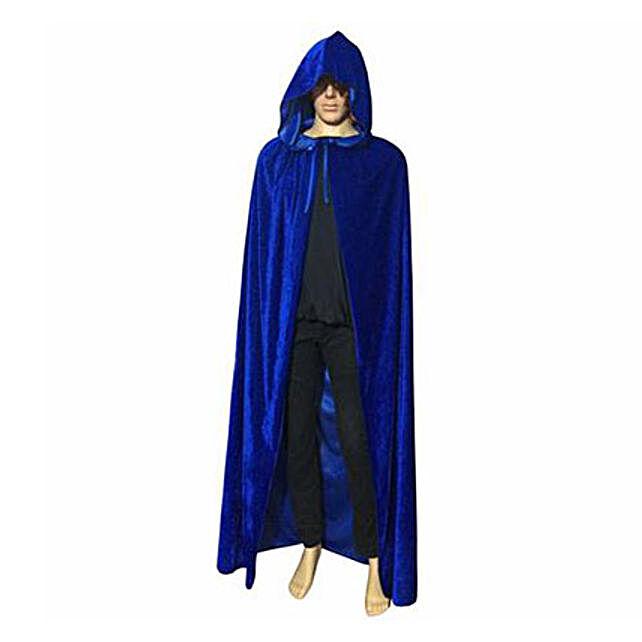 Blue Gothic Cloak