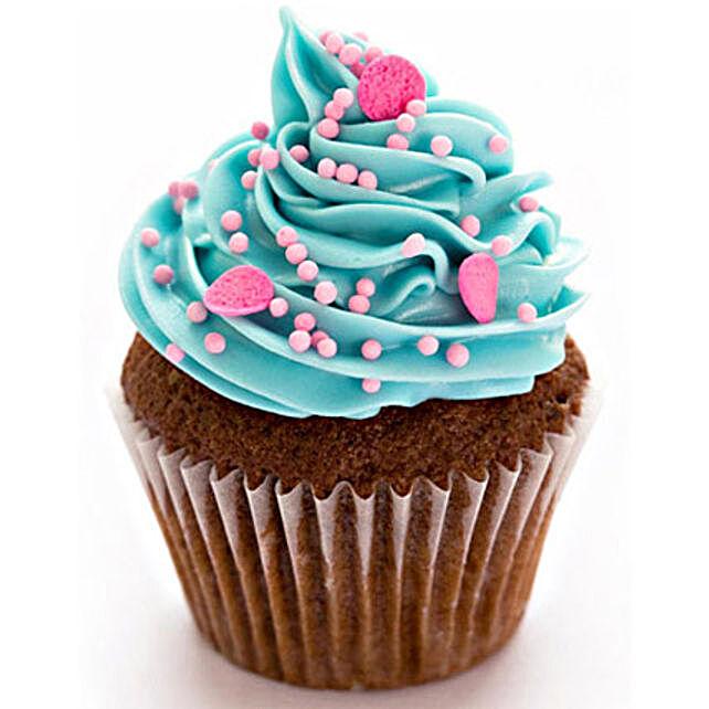 Blue Pink Fantasy Cupcakes 24