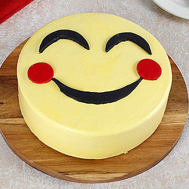 Blush Emoji Butterscotch Cake 1kg