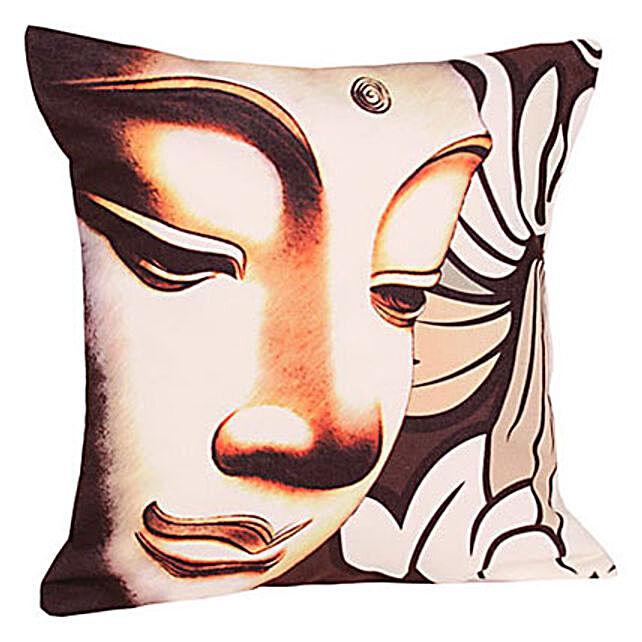 Wisdom Cushion Buddha-12x12 inches Buddha print cushion