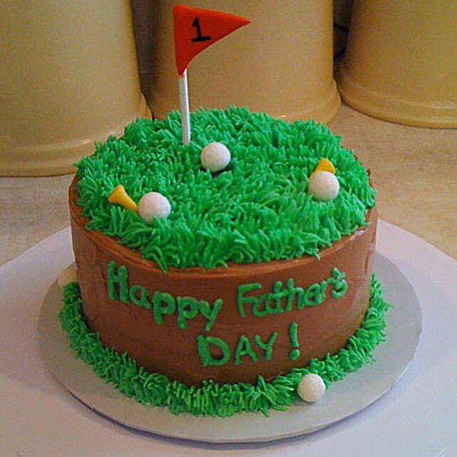 Cake For Golfer Dad 1kg