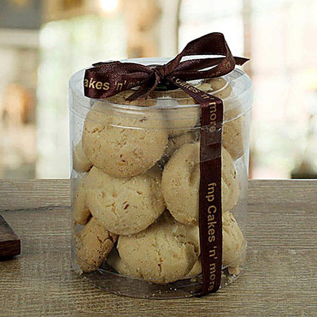 Cashew Nankhatai Cookies