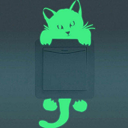 Cat Switch Stickers Set Of 2