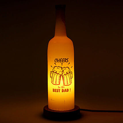 Cheers Dad Lamp By FNP