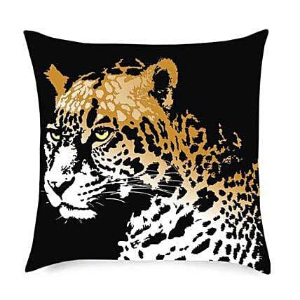 Cheetah in the House Cushion By FNP