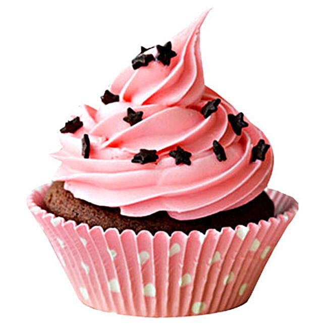 Chocolate Star Cupcake 6