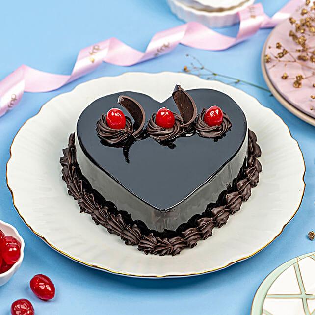Celebration with Truffle cake