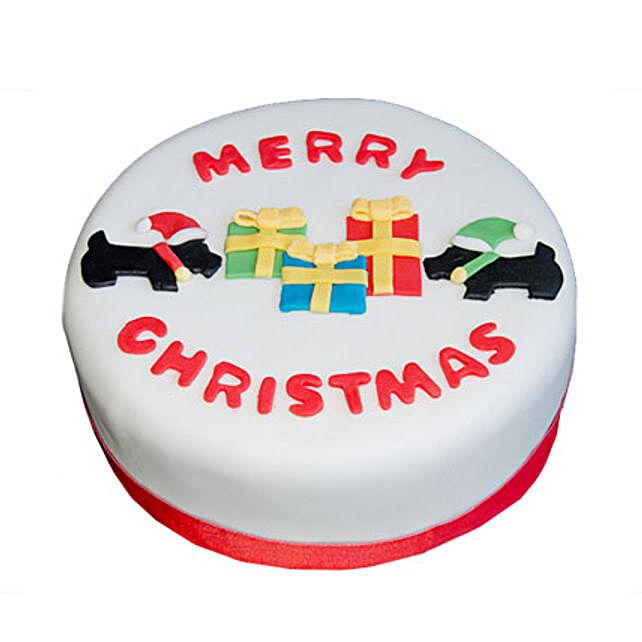 Christmas Celebrations Cake 3kg