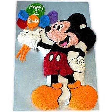 Creamy MM with Balloons 4kg Eggless Black Forest