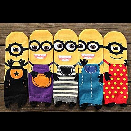 online minions socks for kids