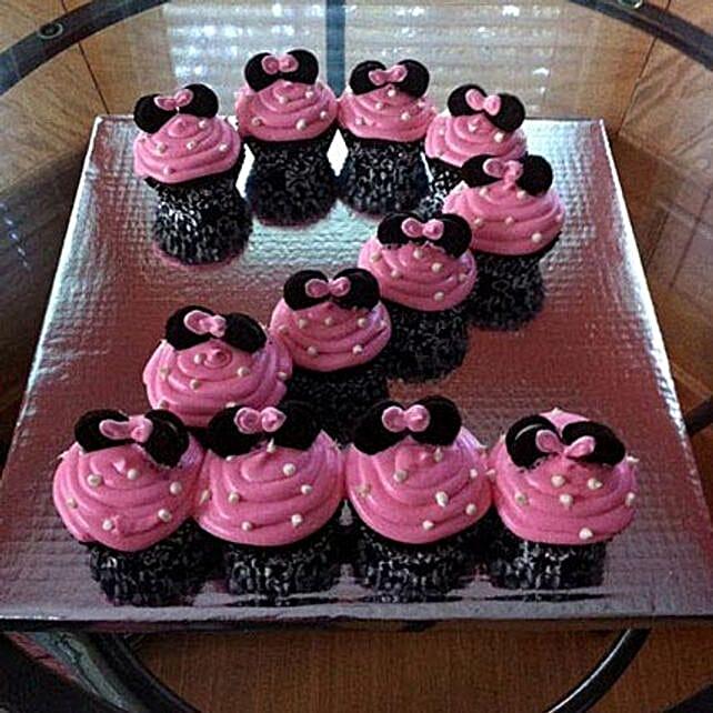 No 2 Designed Cute mini Cupcake