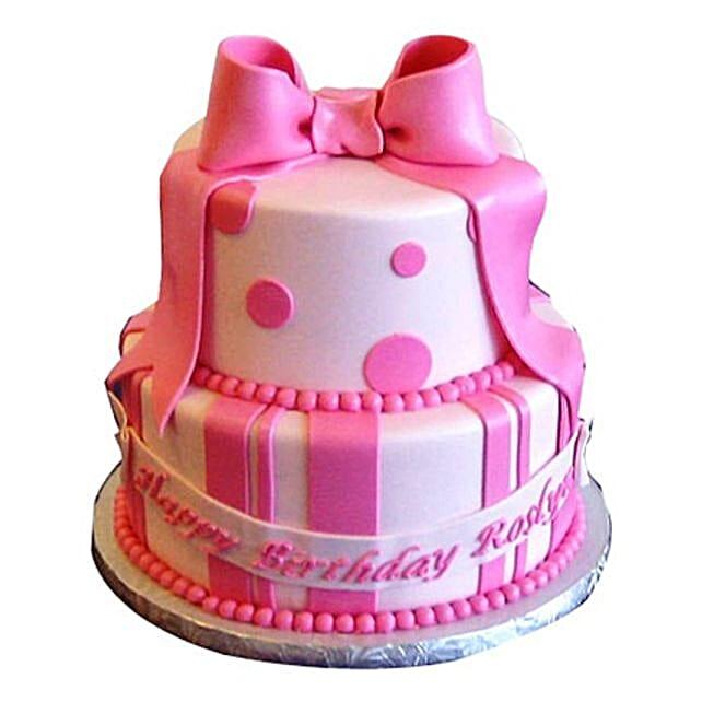 Cute Pink Gift Cake 3kg