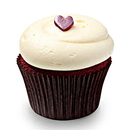 Cute Red Velvet Cupcakes 12 Eggless