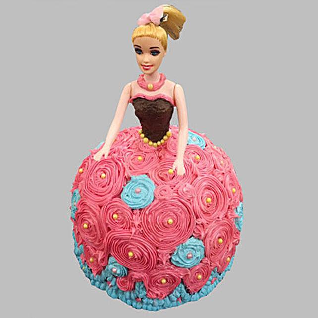 Dashing Barbie Cake Pineapple 2kg