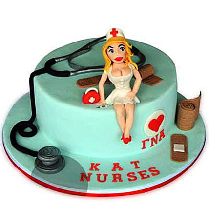 Delicious Doctor Cake 4kg Eggless Vanilla