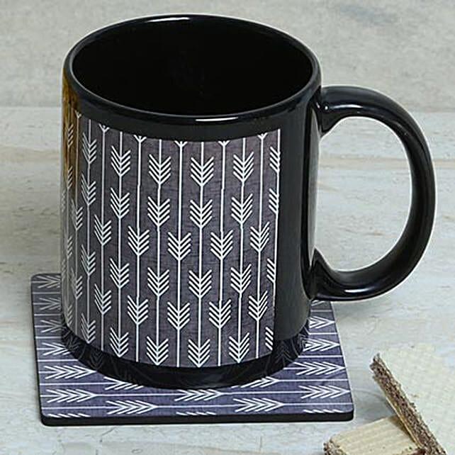 Elegant Choice Mug With Coaster