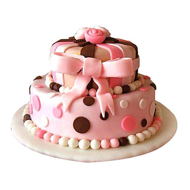 Elegant Pink Cake 5kg