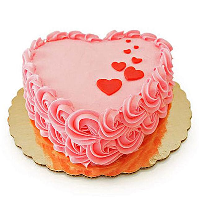 Floating Hearts Cake 2kg Truffle