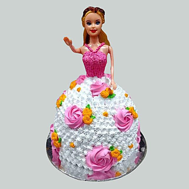 Barbie Design  Cake 2kg