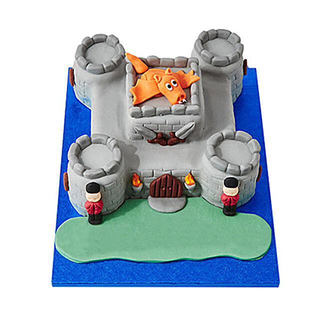 Fort Fondant Cake Vanilla 4kg Eggless