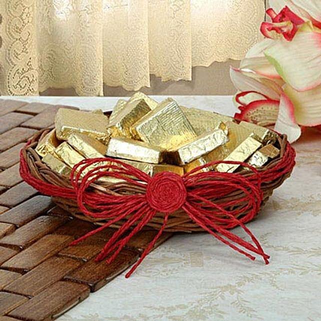 Handmade Dark Chocolate basket