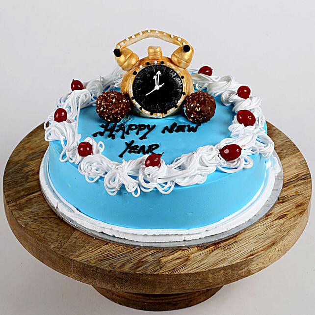 Happy 2019 Chocolate Cake- 1.5 Kg Eggless